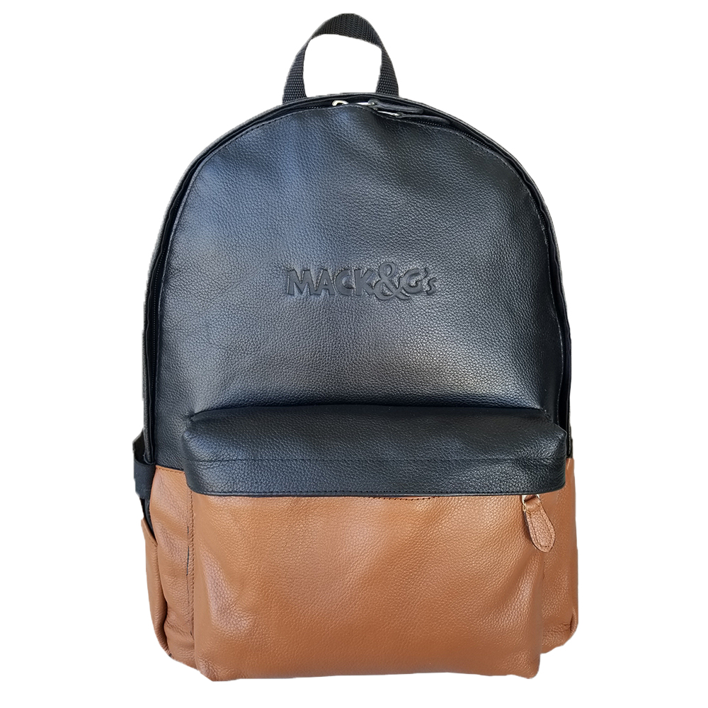 Leather Backpack Gym