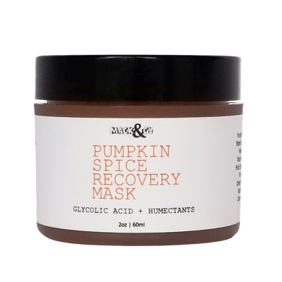 Pumpkin Spice Recovery Facial Mask